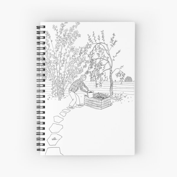 beegarden.works 001 Spiral Notebook