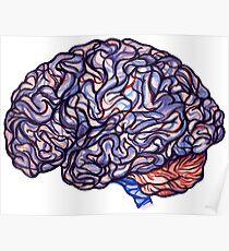 Brain Storming - Violette Poster