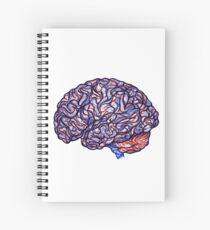 Brain Storming - Violette Spiral Notebook