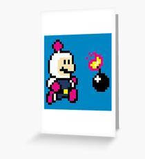 BomberMario Greeting Card