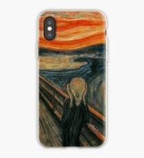 Classic Art - The Scream  - Edvard Munch iPhone Case