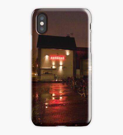 Karaoke club iPhone Case
