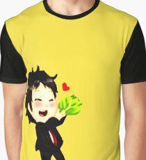 Chibi Tohru Adachi Graphic T-Shirt