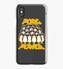 PORG POWER iPhone Case/Skin
