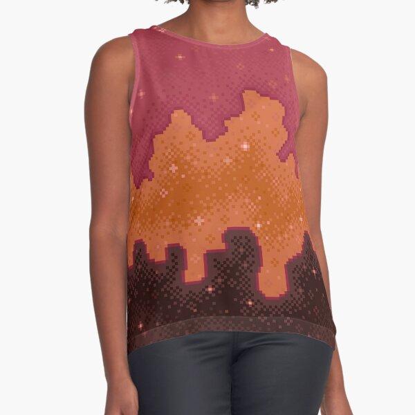 Autumn Starscape Sleeveless Top