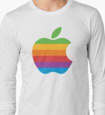 Vintage Apple Logo Long Sleeve T-Shirt