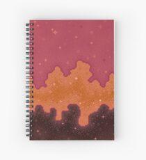 Autumn Starscape Spiral Notebook