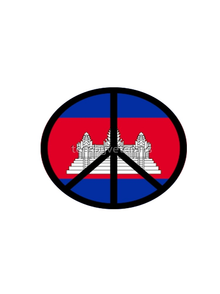 Peace In Cambodia by teesbyveterans