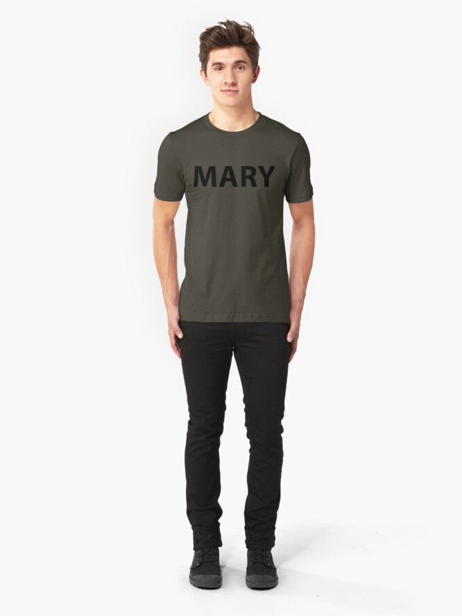 Alternate view of MARY ARMY Slim Fit T-Shirt