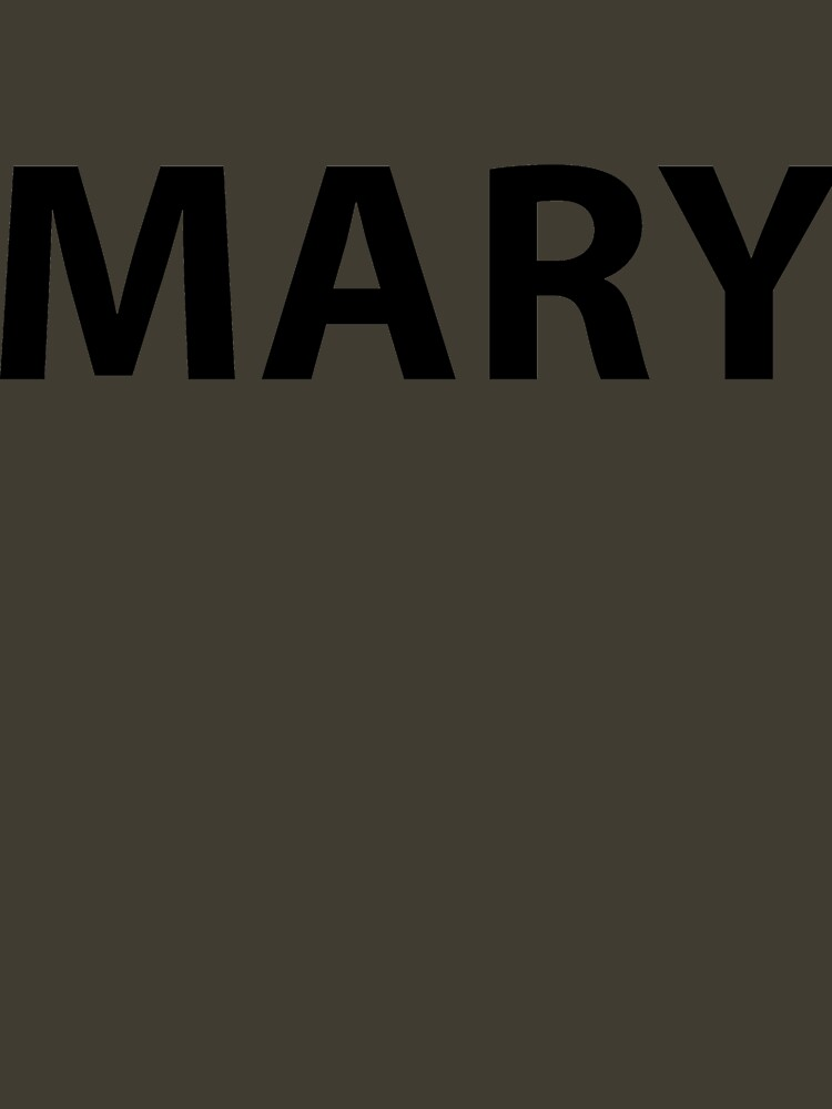 MARY ARMY by boulevardier
