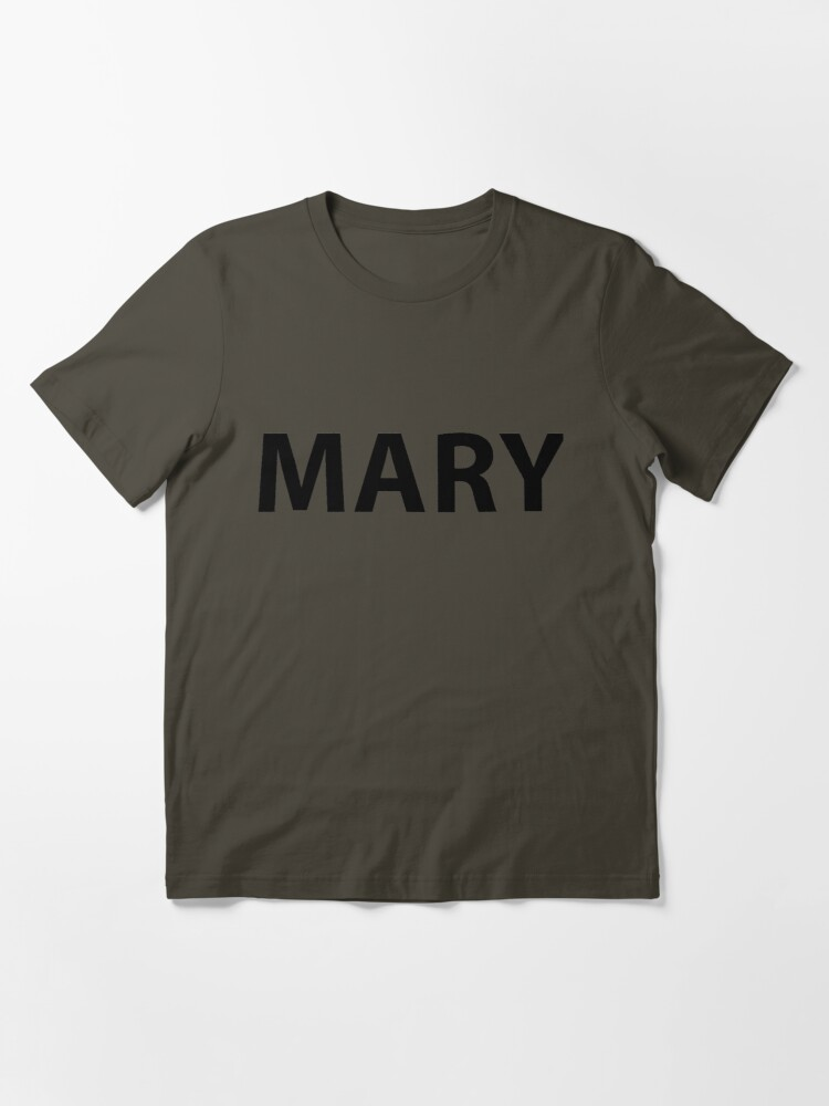 Alternate view of MARY ARMY Essential T-Shirt