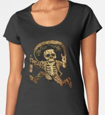 Posada Day der Toten Outlaw Frauen Premium T-Shirts