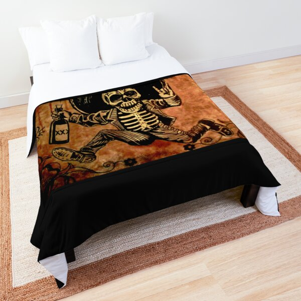 Posada Day of the Dead Outlaw Comforter