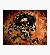 Posada Day of the Dead Outlaw Photographic Print