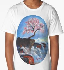 Cherry Blossom Long T-Shirt