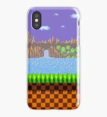 Green Hill Zone iPhone Case/Skin