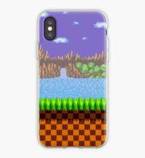 Grüne Hügelzone iPhone-Hülle & Cover