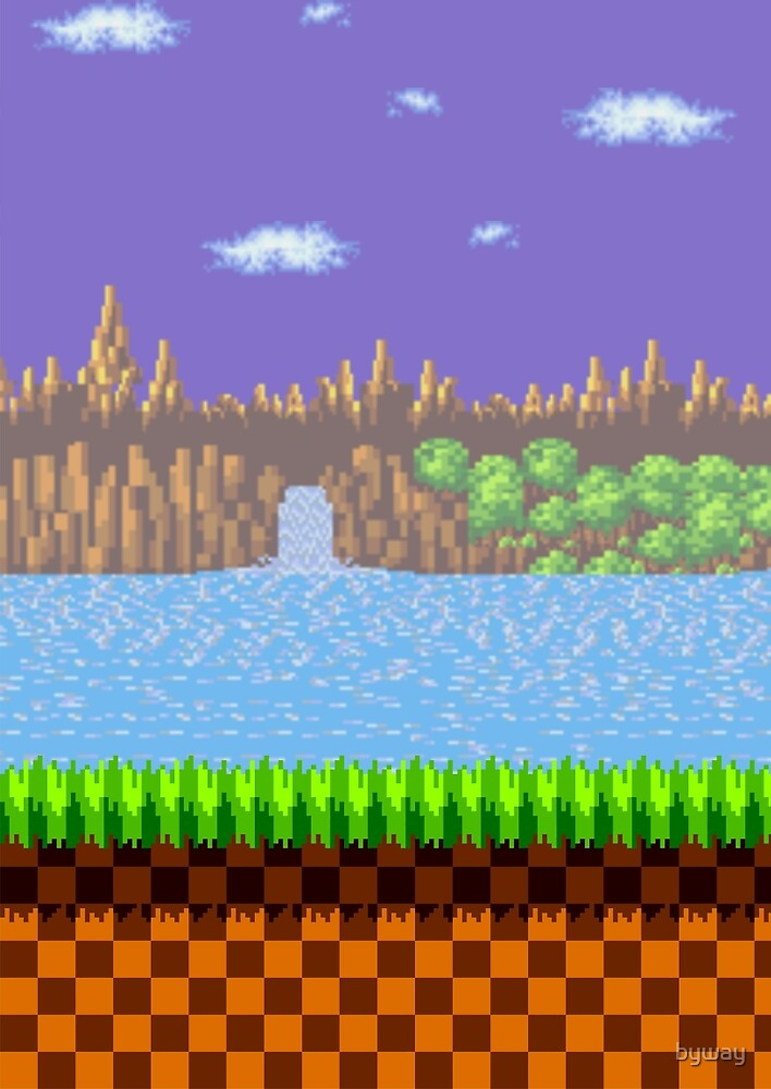 Green Hill Zone by byway