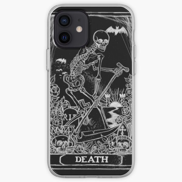Death Card iPhone Soft Case