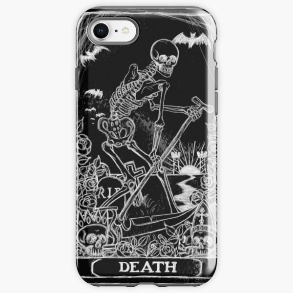 Death Card iPhone Tough Case