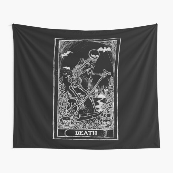 Death Card Tapestry