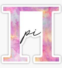 pi Sticker