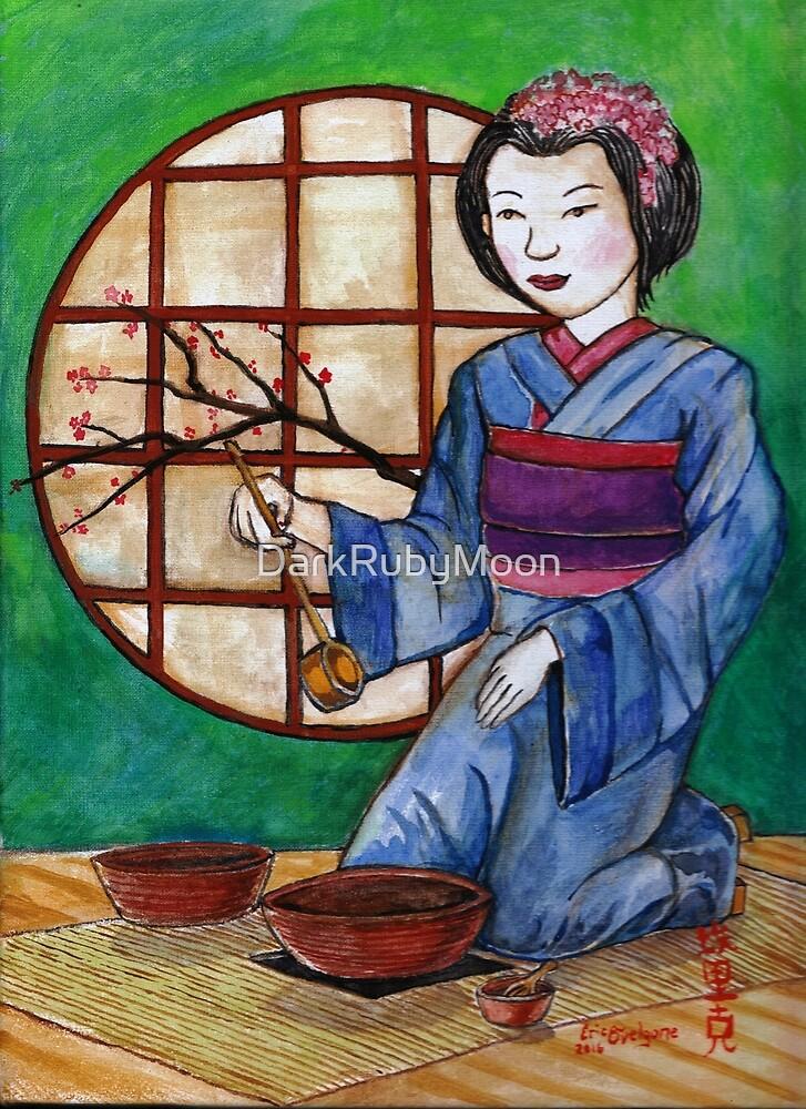 Geisha Tea by DarkRubyMoon