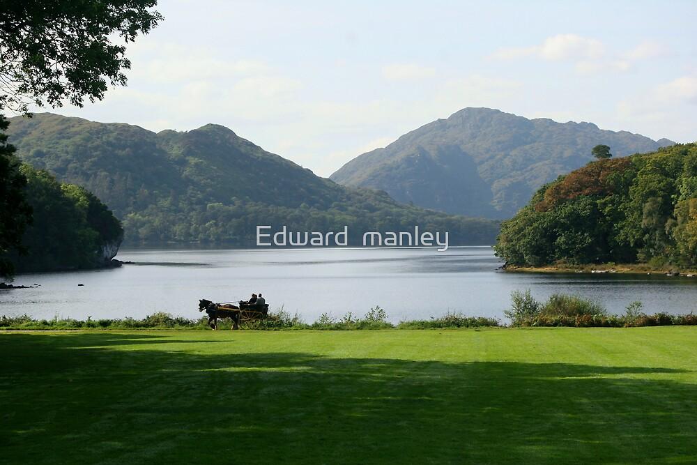killarney lakes by Edward  manley