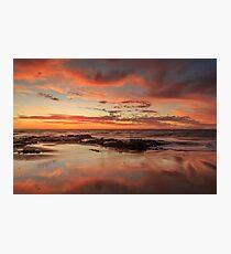 Sandy Reflections Photographic Print