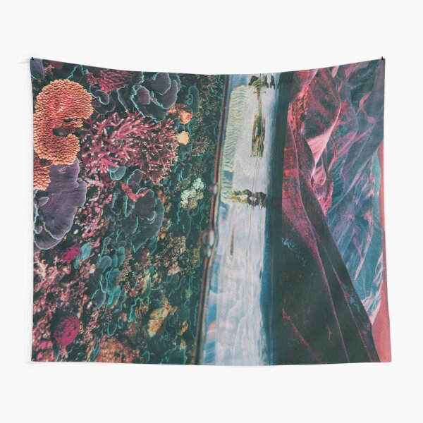 Space coral Tapestry