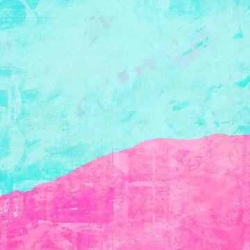 Mint and pink floss by DeborahMcGrath