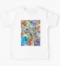 Brazilian Real Notes Kids Clothes