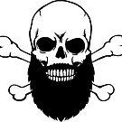 Bearded Skull by GLOBEXIT