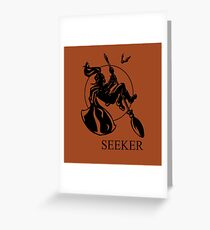Seeker Print Greeting Card