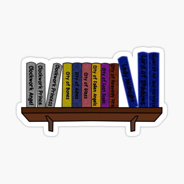 Shadowhunters book shelf  Sticker