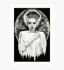 Frankenstein's Bride Art Print