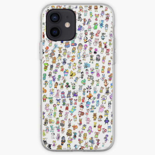 Animal Crossing New Leaf - All Villagers iPhone Soft Case