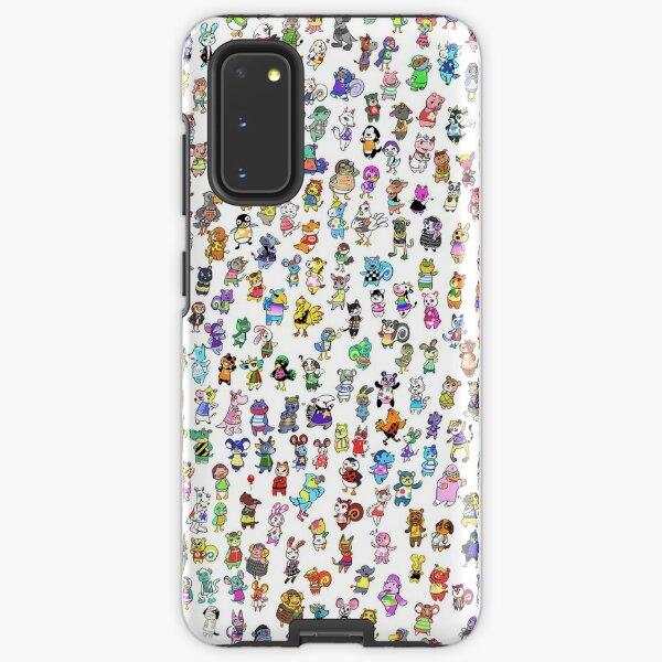 Animal Crossing New Leaf - All Villagers Samsung Galaxy Tough Case