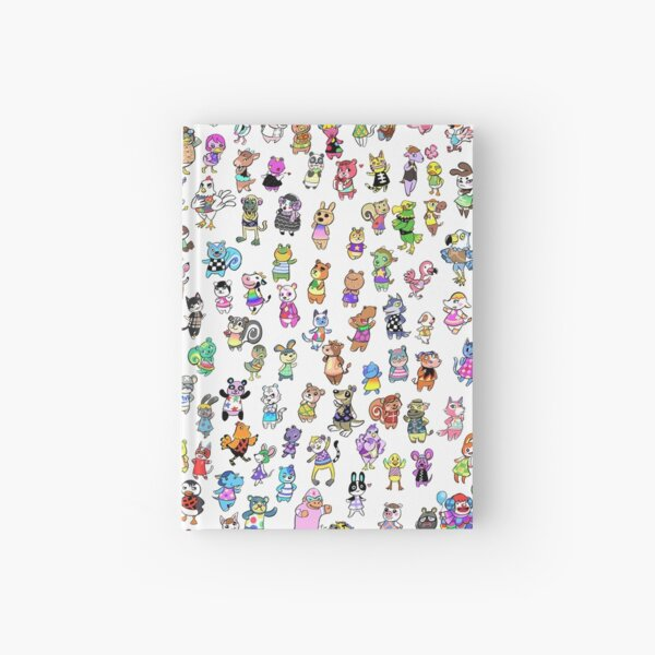 Animal Crossing New Leaf - All Villagers Hardcover Journal