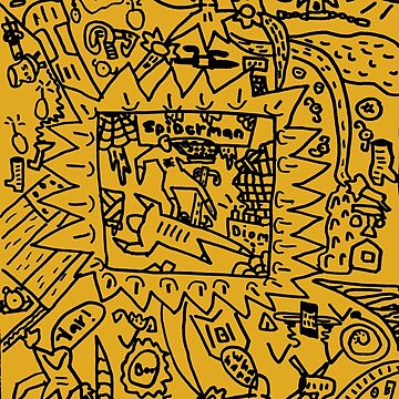 PsyKIDelic Spider by Grafx-Guy