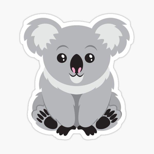 Lindo Koala Pegatina