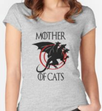 Love Cat, Mother of Cats Women's Fitted Scoop T-Shirt