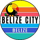 Belize City Belize Tropical Ocean Beach Diving Scuba Toucan by MyHandmadeSigns