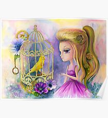 Bird in a cage Poster