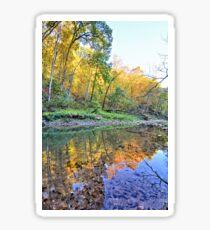 Autumn On Brush Creek 2 Sticker