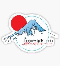 Journey to Nippon Sticker