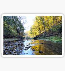 Autumn On Brush Creek 3 Sticker