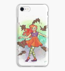 Gone Batty Dancing Girl iPhone Case/Skin