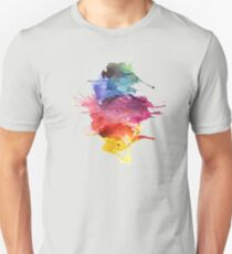 Spatters Of Color Unisex T-Shirt