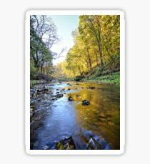 Autumn At Brush Creek Sticker